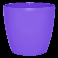 Вазон «Матильда» 12*11 см 0,9 л (тёмно-сиреневый) Алеана 113082