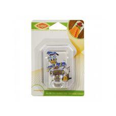 Крючок для ванной комнаты с рисунком пластиковый, одинарный, 7,3*5,5*3,5 см, детский TM Bager