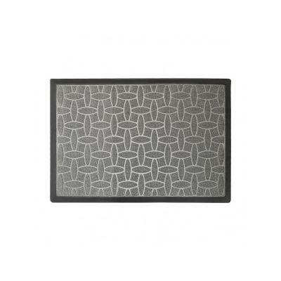 Коврик придверный серый полипропилен, ТМ МД, 60*90 см