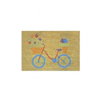 """Коврик кокосовый """"Велосипед"""", ТМ МД, 40*60 см"""