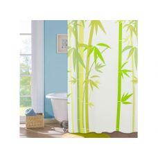 """Шторка для ванной комнаты """"Green Bamboo"""",180*180cм ТМ """"МД"""" PEVA"""