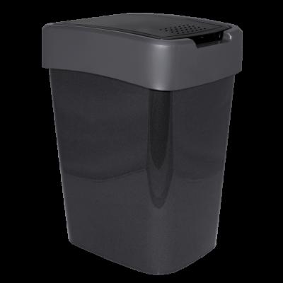 "Ведро для мусора ""Евро"" 10 л (гранит/серый) Алеана 122066"