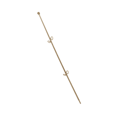 """Опора для орхидей """"Сфера"""" 56 см (коричневый прозрачный PS) Алеана 114044"""