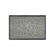 Коврик придверный серый, полипропилен,ТМ МД, 60*90 см