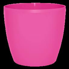 Вазон «Матильда» 16*15 см 2,1 л (тёмно-розовый) Алеана 113083