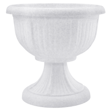 Вазон с подставкой «Леон» 51*48,5 см 29 л (белый флок) Алеана 114001