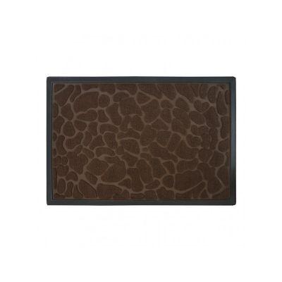 Коврик придверный коричневый, полипропилен,ТМ МД, 60*90 см