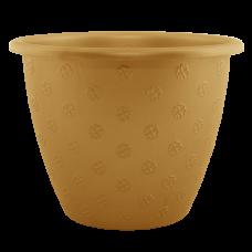 Вазон «Верона» 27*20,5 см 6,5 л (бронзовый) Алеана 112013