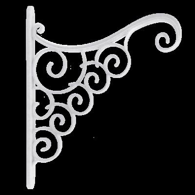 Акант для вазона 25*0,3*20 см (белый флок) Алеана 112098