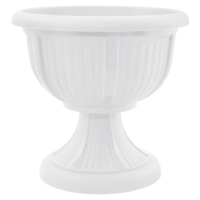 Вазон с подставкой «Леон» 51*48,5 см 29 л (белый) Алеана 114001