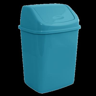 Ведро для мусора 5 л (бирюзовый) Алеана 122061