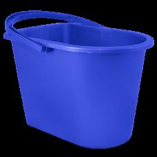 Ведро прямоугольное 14 л (синий) Алеана 122024