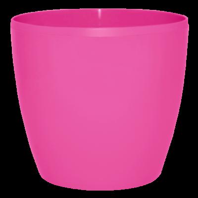 Вазон «Матильда» 12*11 см 0,9 л (тёмно-розовый) Алеана 113082
