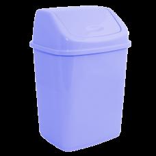 Ведро для мусора 10 л (сиреневый) Алеана 122063
