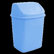 Ведро для мусора 5 л (голубой) Алеана 122061