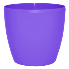 Вазон «Матильда» 20*18 см 4,1 л (тёмно-сиреневый) Алеана 113084