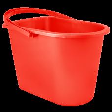 Ведро прямоугольное 14 л (красный) Алеана 122024