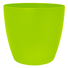 Вазон «Матильда» с поливом и дренажом 20*18 см 4,1 л (оливковый) Алеана 114094