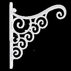 Акант для вазона 25*0,3*20 см (белый) Алеана 112098