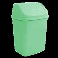 Ведро для мусора 10 л (салатовый) Алеана 122063