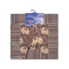 Набор ковриков коричневый V-Line 6833