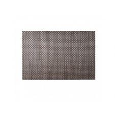 Коврик сервировочный под столовые приборы, коричневый+серый, 30х45 см, , ТМ МД