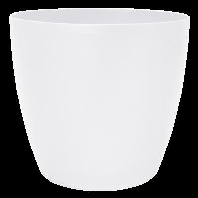 Вазон «Матильда» 12*11 см 0,9 л (белый) Алеана 113082