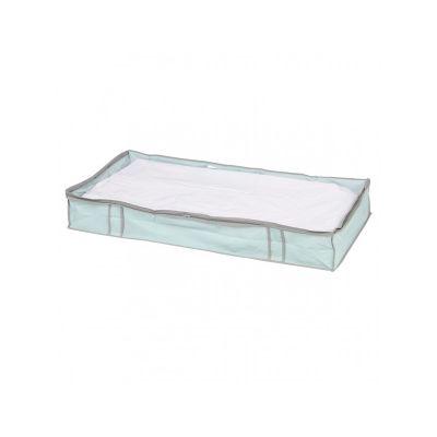 Кофр для одеяла, голубой, 100*45*15 см, ТМ МД