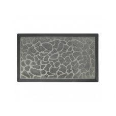 Коврик придверный с узором камушки серые, полипропилен, ТМ МД, 45*75 см