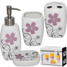 Набор аксессуаров для ванной комнаты Незабудка SnT 888-045
