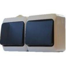 Блок-2 одноклавишных выключателя АСКО