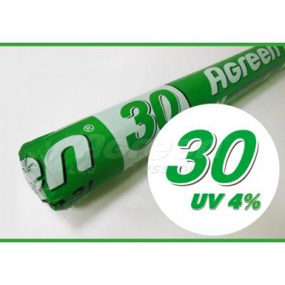 Агроволокно, плотность 30 (белое, рулон 3,2*50 м) Agreen