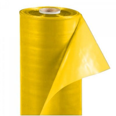 Плёнка полиэтиленовая жёлтая 12 СТ (UV-2), 100 мкр, 3*50 м Ника Пласт