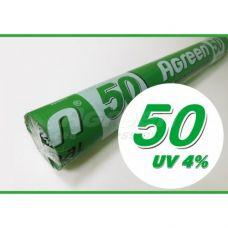 Агроволокно, плотность 50 (чёрное, рулон 1,6*100 м) Agreen