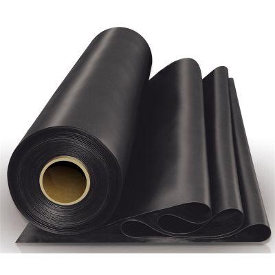 Плёнка строительная полиэтиленовая чёрная, 150 мкр, 1,5*50 м Ника Пласт