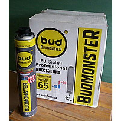 Пена Всесезонная профессиональная Budmonster Prime 65 860 мл