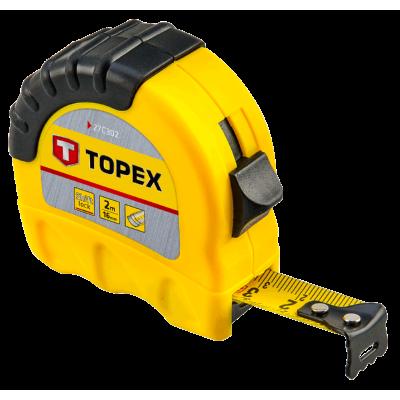 Рулетка 2 м TOPEX 27C302