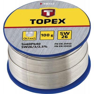 Припой оловянный Topex 44E524