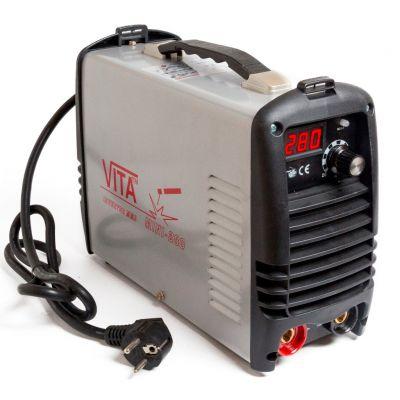Сварочный инвертор ММА-280 mini VITA в металлическом кейсе SI-0005