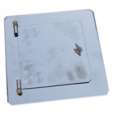 Дверца прочистная, нержавеющая сталь 90х90 мм Водолей ЯП
