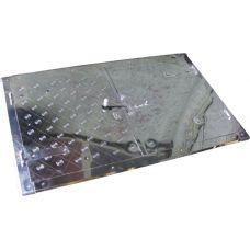 Дверца печная (большая) нержавеющая сталь 480*760 мм Водолей ЯП