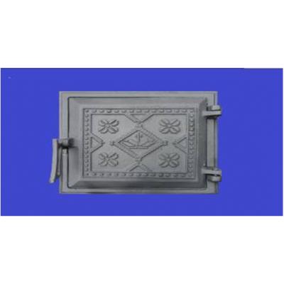 Дверца чугунная топочная 265*250 (Вышиванка) Конист