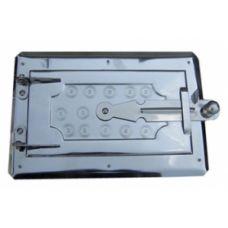 Дверца металлическая поддувная 180х265 мм Водолей ЯП