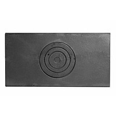 Плита чугунная однокомфорочная 620*320 Конист ПД-1