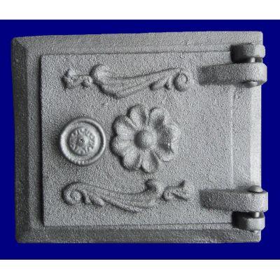 Дверца чугунная прочистная 162*140 мм Конист