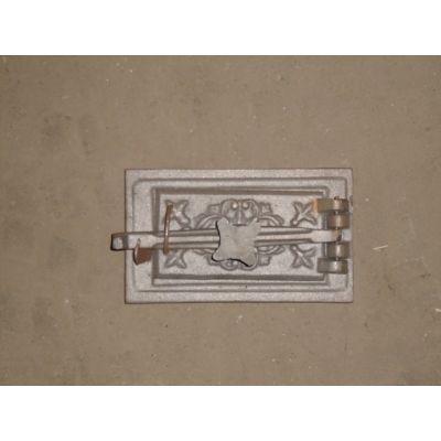 Дверца чугунная поддувная 270х160 (Полесская) Конист