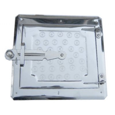 Дверца металлическая топочная 250х265 Водолей ЯП