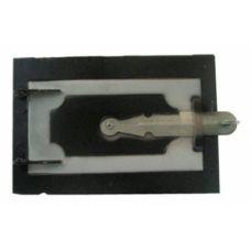 Дверца металлическая поддувная 210х120 мм Водолей ЯП