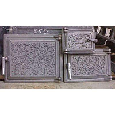 Дверца чугунная топочная 230*270 мм Татарская