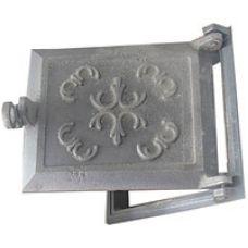 Дверца чугунная топочная 270х230 мм Водолей ЯП